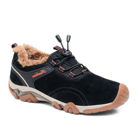 Fashion Men Casual Trend for Fashion Lace Up Outdoor Flat Type Leather Suede Shoes