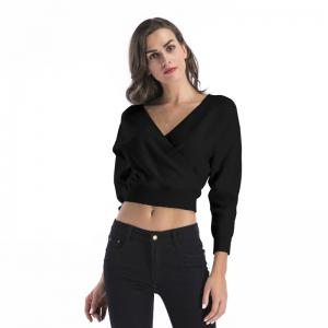 Lady V Collar Bats Crop Top -