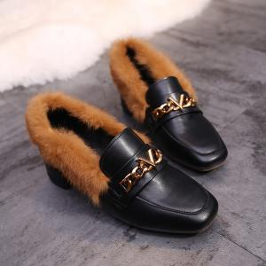Winter and Winter New and Warm Cotton Shoes -