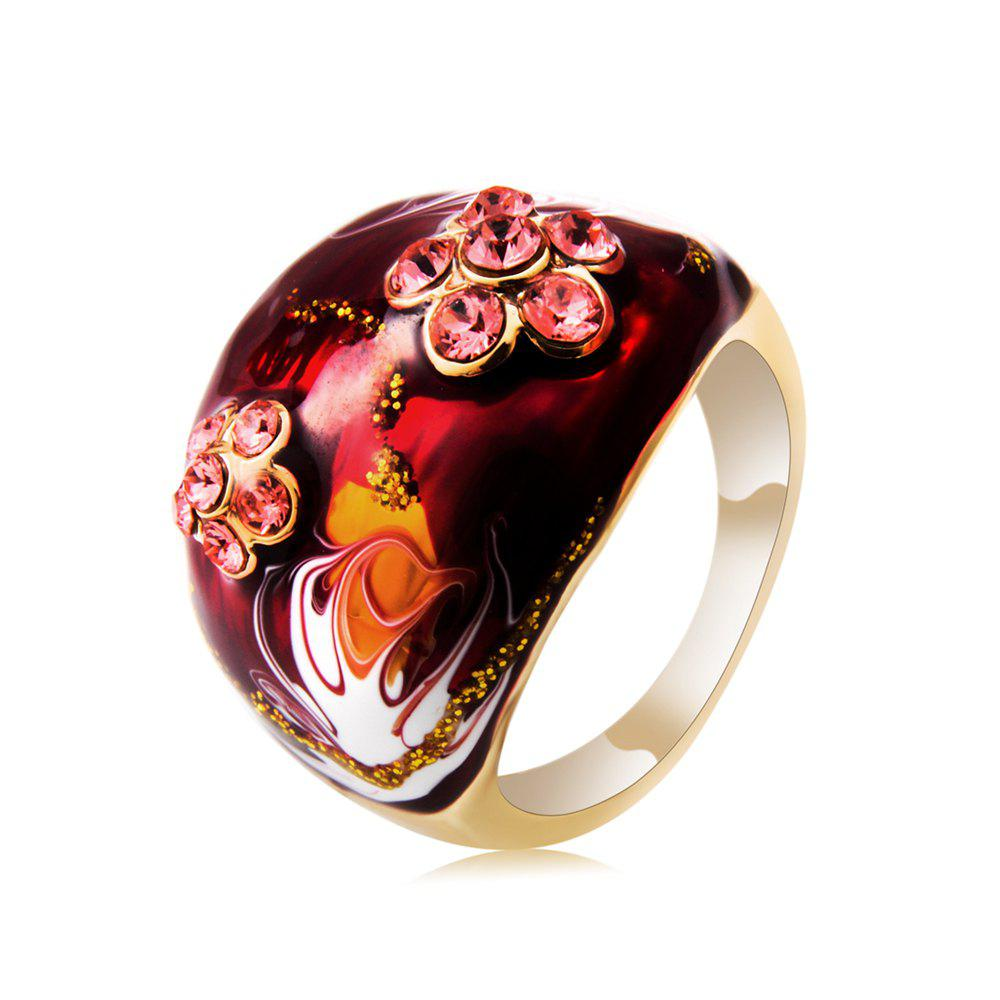 Outfits Women's Diamond Oil Painting Crystal Ring