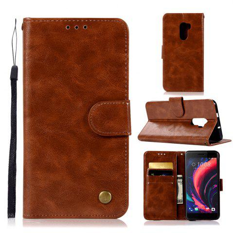 Sale Luxurious Retro Fashion Flip Leather Case PU Wallet Cover Cases For HTC One X10 / E66 Smart Cover Phone Bag with Stand