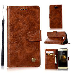 Luxurious Vintage     Fashion Flip Leather Case PU Wallet Cover Cases For Huawei Y5 II / Y5 2 Smart Cover Phone Bag with Stand -