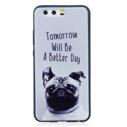 Phone Case for Huawei P10 Pet Dog Fashion Cartoon Relief Soft Silicone TPU Cover Cases Protection Phone Bag -
