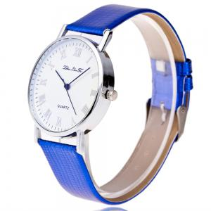 New Fashion Crocodile Pattern Strap Ladies Quartz Watch with Leisure Gift Box -