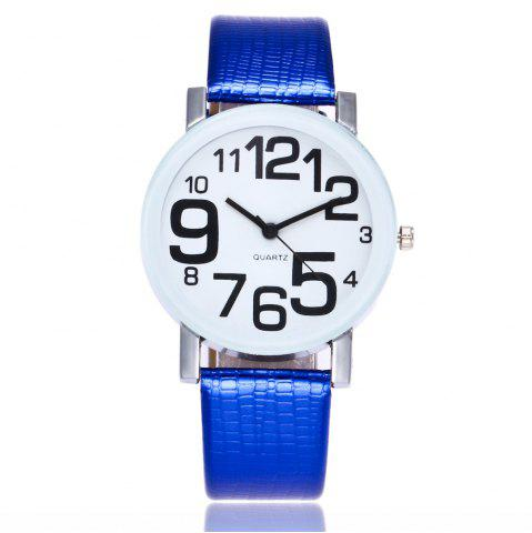 Fashion New Fashion Crocodile Pattern Ladies Casual Digital Quartz Watch with Gift Box