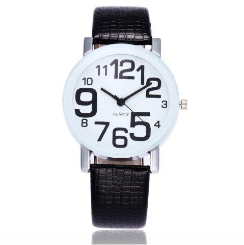 Best New Fashion Crocodile Pattern Ladies Casual Digital Quartz Watch with Gift Box