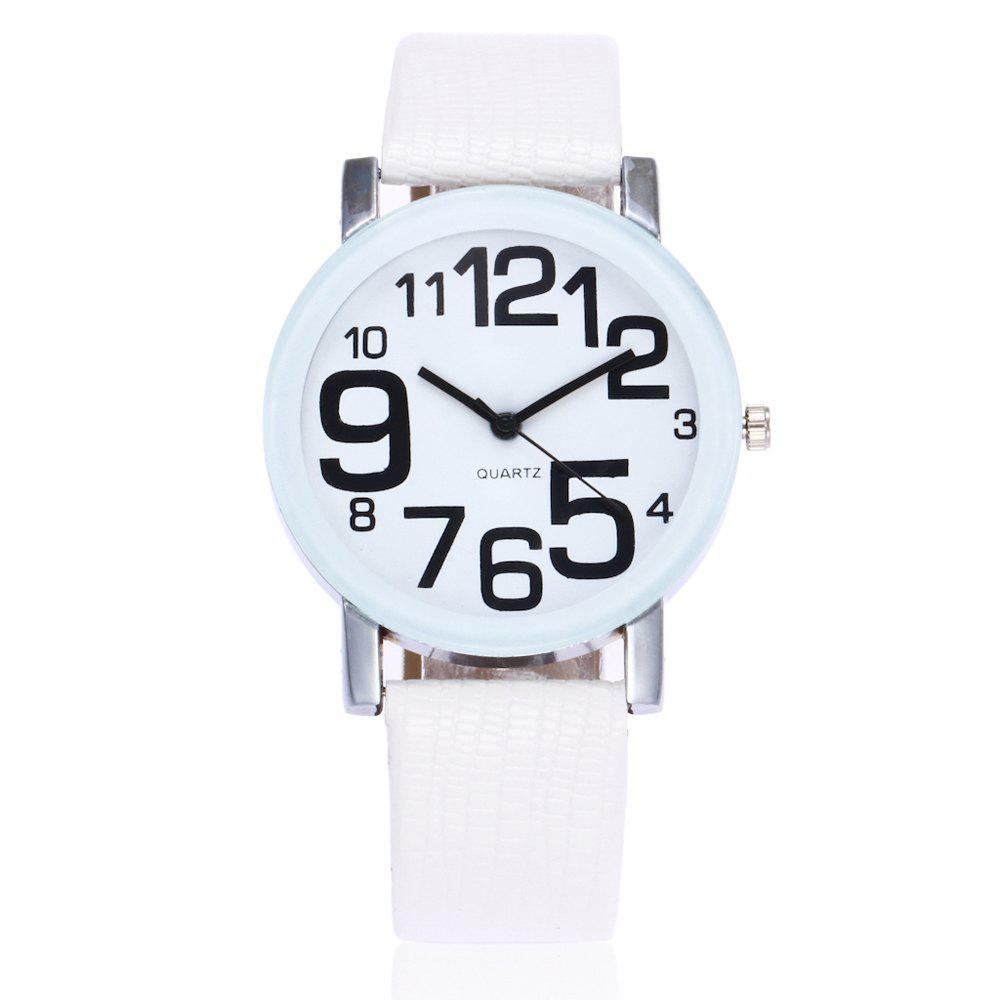 Shop New Fashion Crocodile Pattern Ladies Casual Digital Quartz Watch with Gift Box