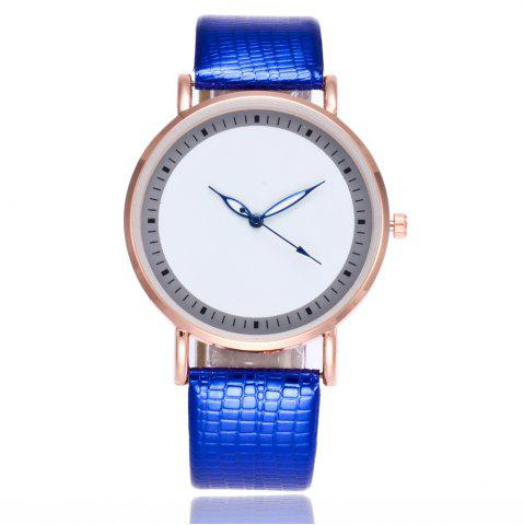 New New Fashion Crocodile Pattern Ladies Business Quartz Watch with Gift Box