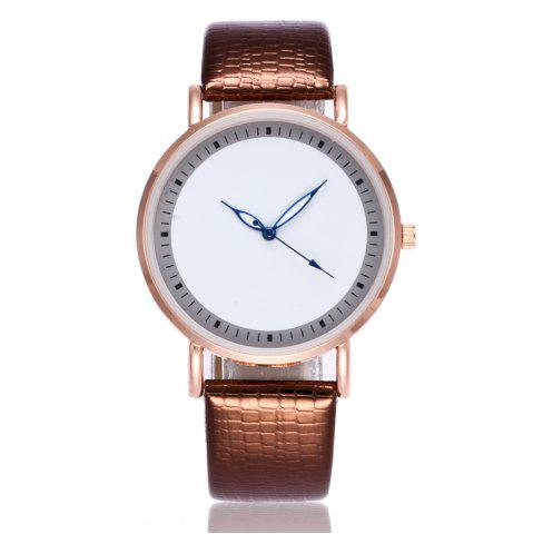 Discount New Fashion Crocodile Pattern Ladies Business Quartz Watch with Gift Box
