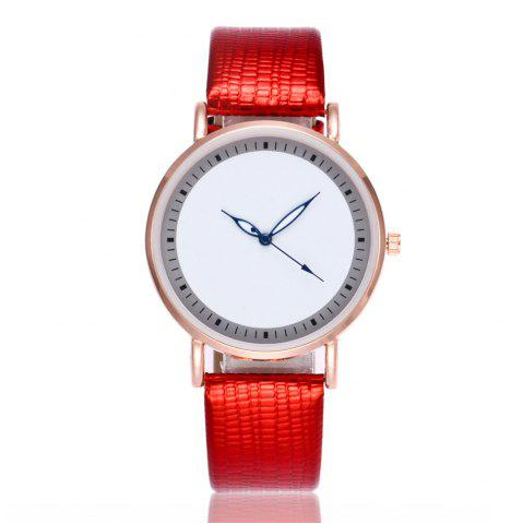 Sale New Fashion Crocodile Pattern Ladies Business Quartz Watch with Gift Box