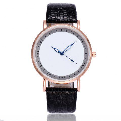Shop New Fashion Crocodile Pattern Ladies Business Quartz Watch with Gift Box