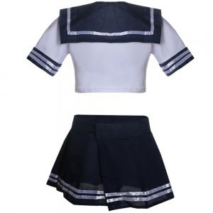 Sexy Lingerie Uniform Nightclub Campus Role-Playing Suit -