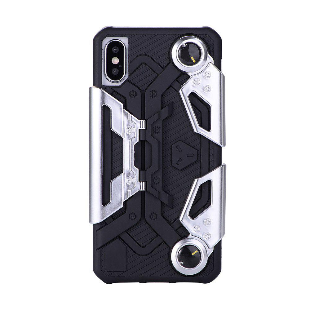 Hot for iPhone X Back Protective Cover Case Shockproof with Kickstand