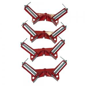 90 Degrees Right Angle Corner Clamp Fish Tank Picture Woodworking Holder Clamps 4PCS -