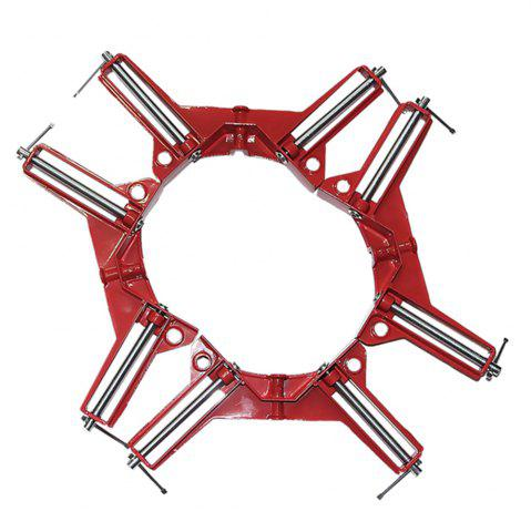 Chic 90 Degrees Right Angle Corner Clamp Fish Tank Picture Holder Woodworking Holder Clamps 4 Pcs/set