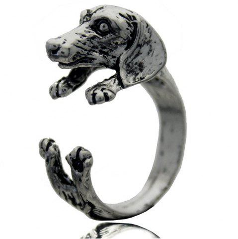 Store Pug animal ring female models jewelry