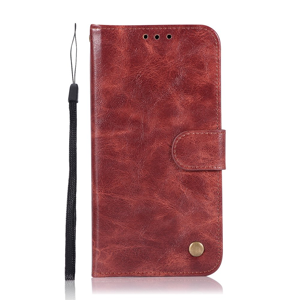 Online Simple and High-end Retrofit Leather Cover for Xiaomi Millet 5X