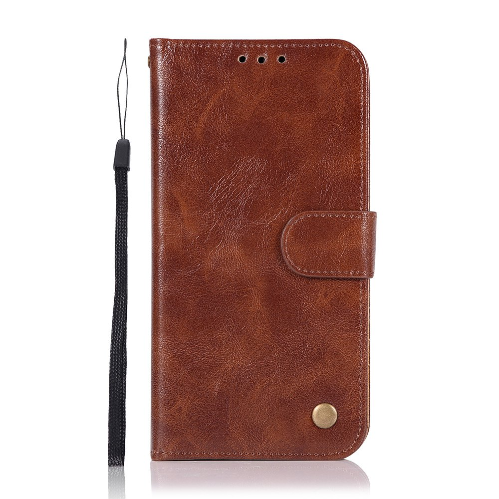 Unique Simple and High-end Retrofit Leather Cover for Xiaomi Millet 5X