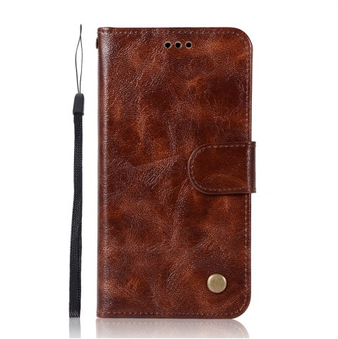 Fashion The Mobile Phone Protection Shell Simple High-end Retro Leather Cover for Xiaomi Redmi 3S