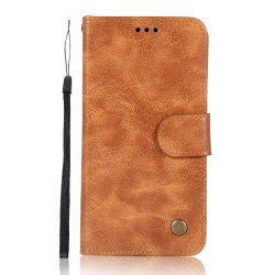 The Mobile Phone Protection Shell Simple High-end Retro Leather Cover for Xiaomi Redmi 3S -