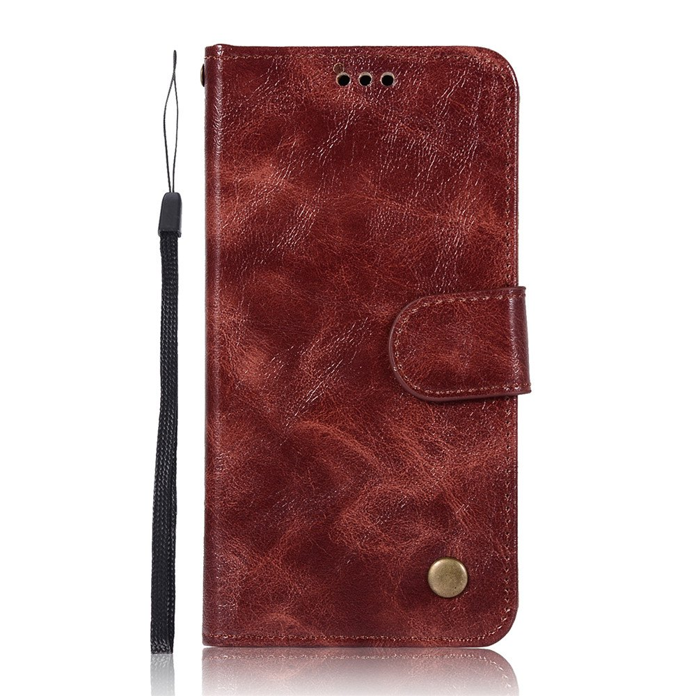 Shop The Mobile Phone Protection Shell Simple High-end Retro Leather Cover for Xiaomi Redmi 3S