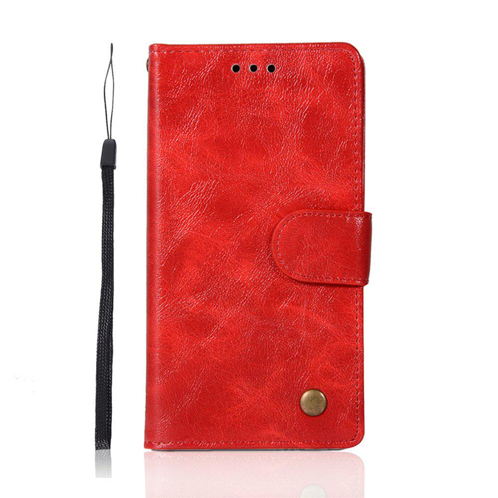 Buy For Huawei P10Lite Retro Tattoo Cover Strap Phone to Protect the Leather Case