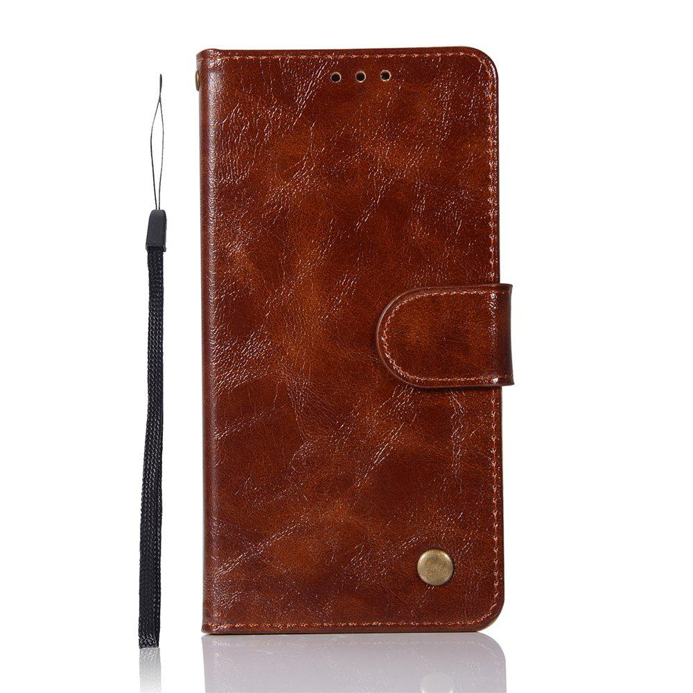 Latest For Huawei P10plus Retrograde Wear Covers with A Cord to Protect the Leather Case