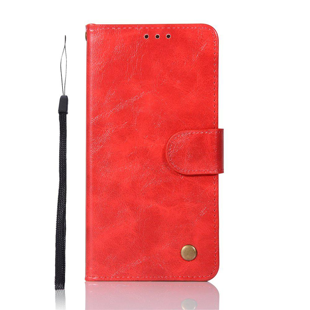 Cheap For Huawei P10plus Retrograde Wear Covers with A Cord to Protect the Leather Case