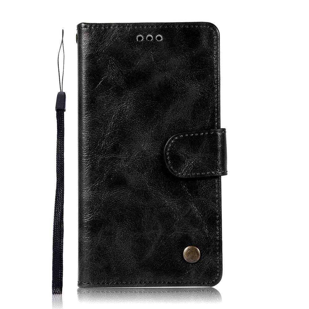 Shop Retro Tattoo Covers the Cover with A Cord On the Phone to Protect the Leather Case for Huawei Glory 7