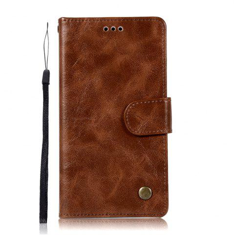 Fancy For Huawei Y7 2017 Retro Tattoo Cover Strap Phone to Protect the Leather Case