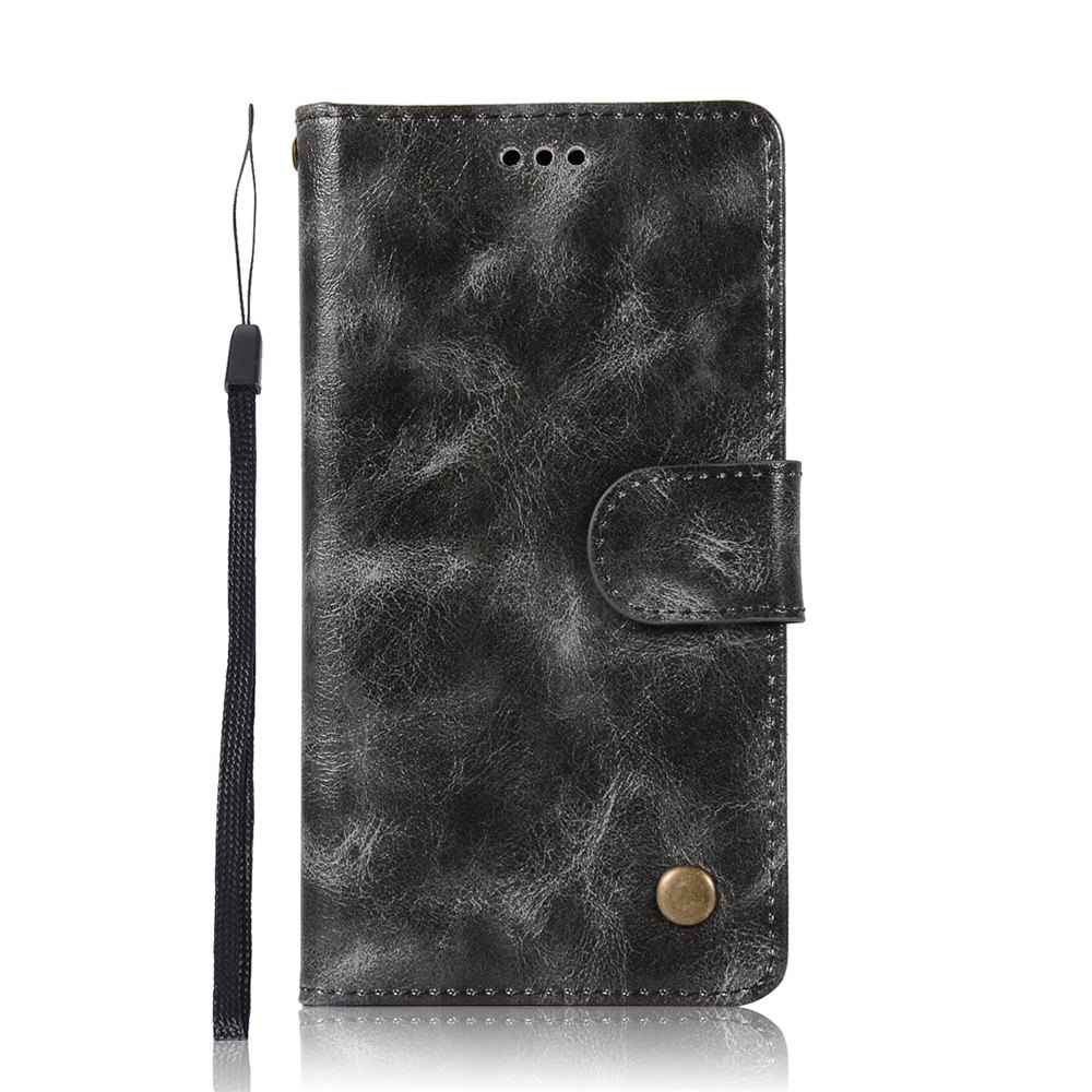 Trendy For Huawei Y7 2017 Retro Tattoo Cover Strap Phone to Protect the Leather Case