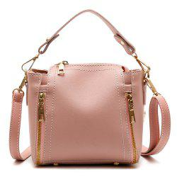Satchel Female Mini Bag New Fashion Shoulder Bag Handbag All-Match Tide Korean Student Bucket Bag -