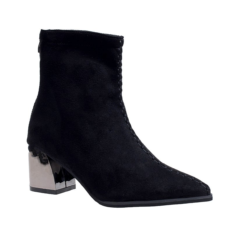 Hot Fashion Warmth Sexy Rough High Heel Boots