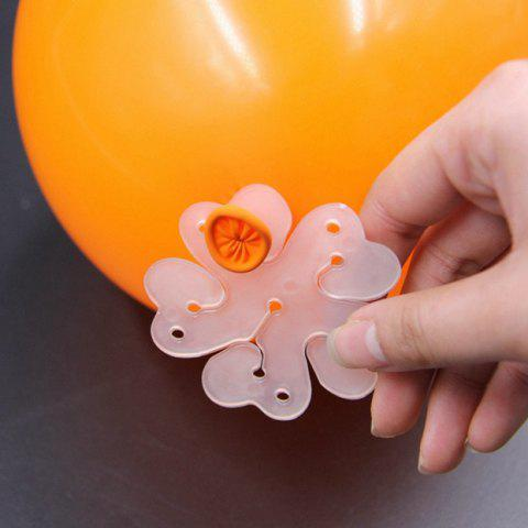 Best 10PCS Wonderful Design Flower Shape Balloons Sealing Clip For Wedding/Birthday/Christmas Party Decoration Supplies