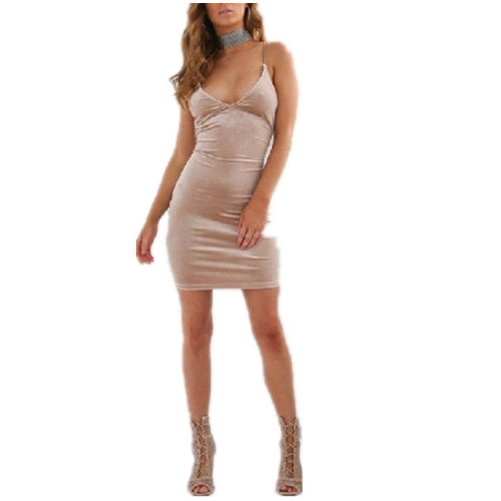 Sale Fashion Sexy Halter Straps Dress