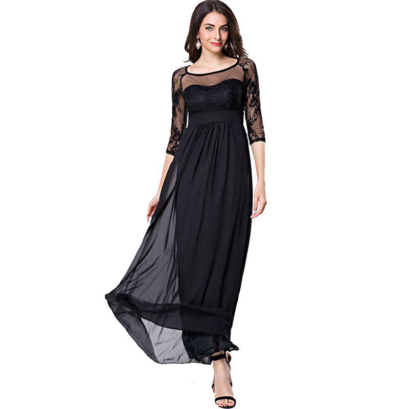 Elegant Fitted Maxi Dresses