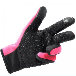 Unisex Cold Weather Fleece Windproof Winter Touch Screen Gloves for Smart Phone -