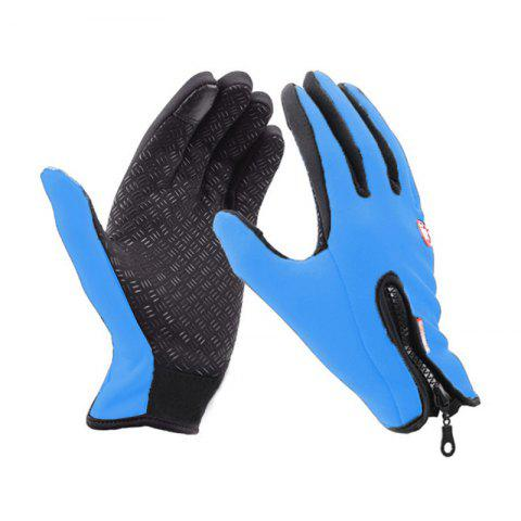 Shop Unisex Cold Weather Fleece Windproof Winter Touch Screen Gloves for Smart Phone