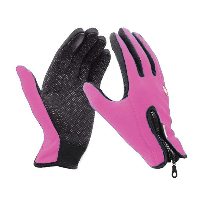 Discount Unisex Cold Weather Fleece Windproof Winter Touch Screen Gloves for Smart Phone