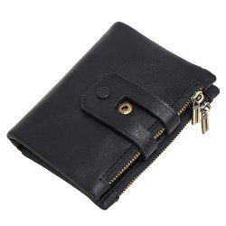 Anti-Theft Brush Leather Wallet -