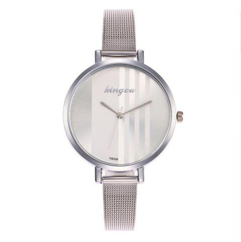 Outfits New Trend of Fashion Rose Gold Small Dial Steel Quartz Watch