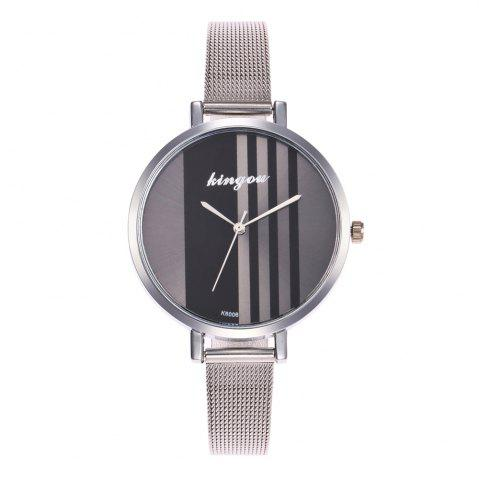 Shop New Trend of Fashion Rose Gold Small Dial Steel Quartz Watch