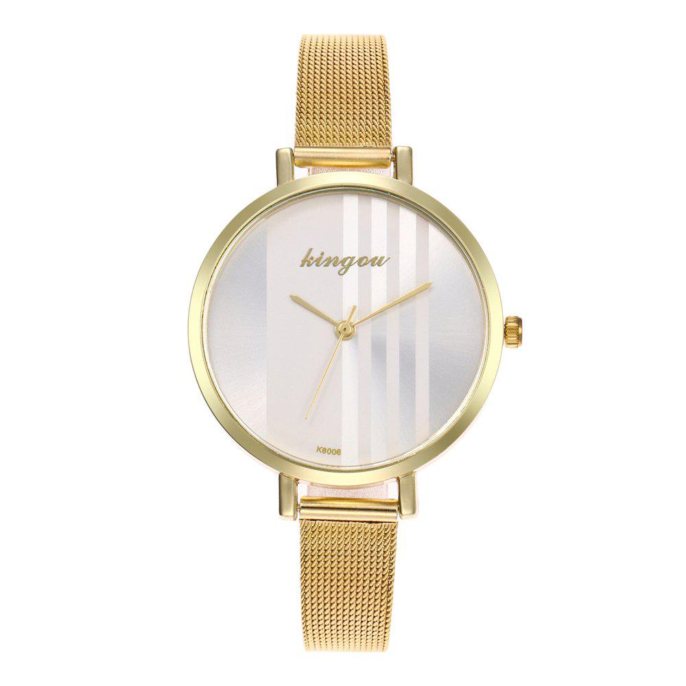Buy New Trend of Fashion Rose Gold Small Dial Steel Quartz Watch