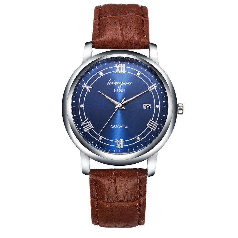 Store New Fashion Trends Luxury Calendar Blu - Ray Quartz Watch