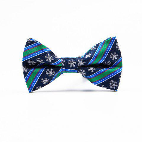 Sale Christmas Man Polyester Jacquard Bow