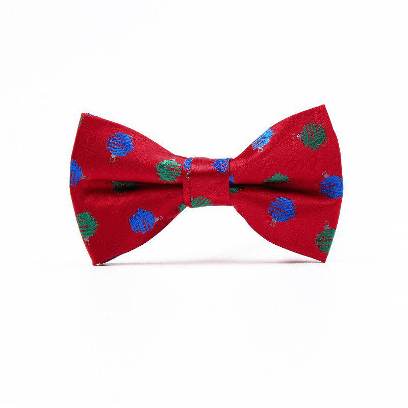 Discount Christmas Man Polyester Jacquard Bow