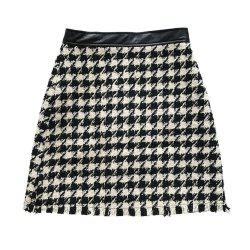 New Tweed Trim  A-line skirt -