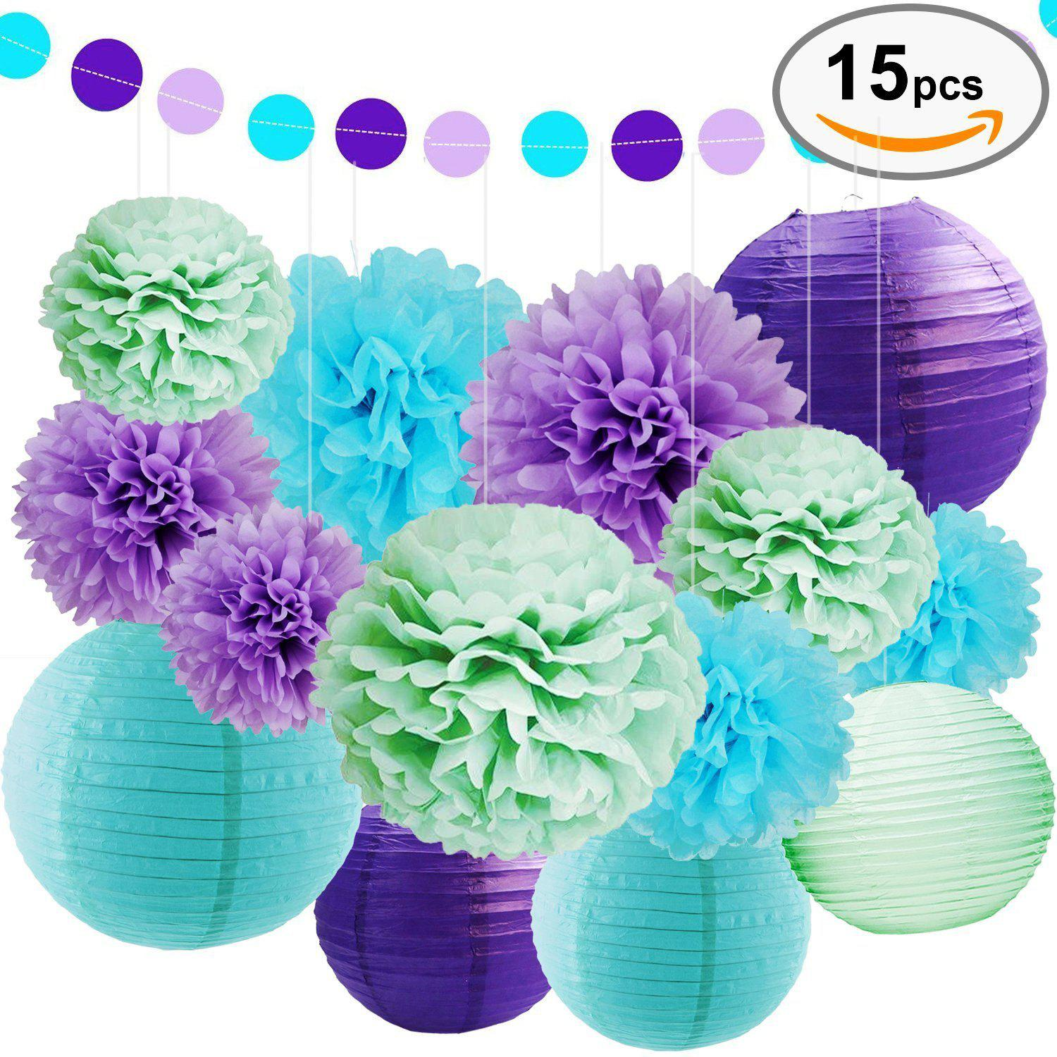 Multicolor Eastern Hope Sea Theme Bridal Shower Party Decoration