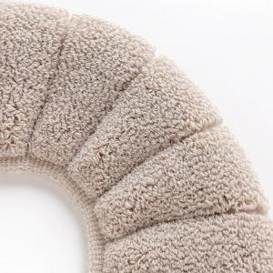 Comfortable fluff  candismantled toilet seat cushion -