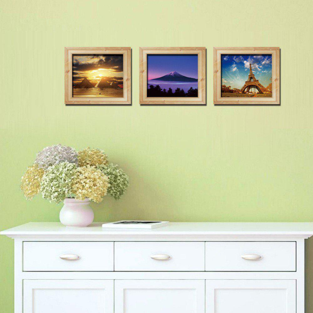 Mixed Color 30 X 90 Cm 3d Three-dimensional Fake Frame Landscape ...